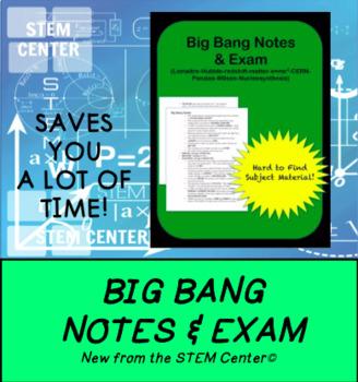 Big Bang Theory Exam with Answers