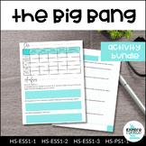 BUNDLE: Big Bang Theory Unit - NGSS Aligned, 5E Based, Student-Centered