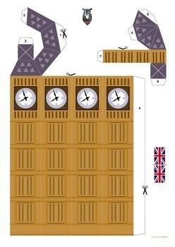 Big Ben 3D paper craft
