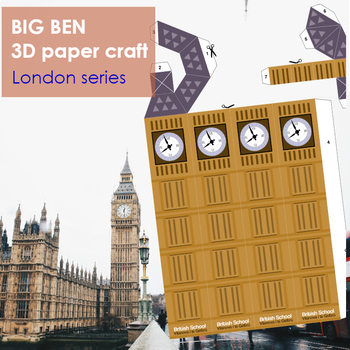 *UPDATED* Big Ben 3D paper craft