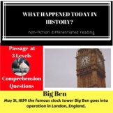 Big Ben  Differentiated Reading Passage May 31