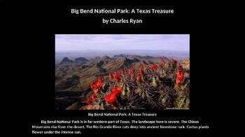 Big Bend National Park Powerpoint