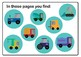 Big Big cars - playdoh mats