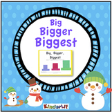 Big Bigger Biggest Snowmen Sizes