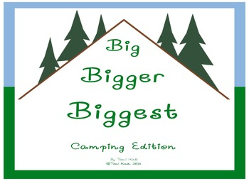 Big Bigger Biggest Camping Size Sequencing Packet