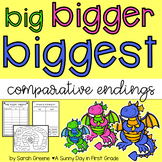 Big, Bigger, Biggest Freebie! {Comparative Endings}
