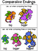 Big, Bigger, Biggest Freebie! {Comparative Endings}