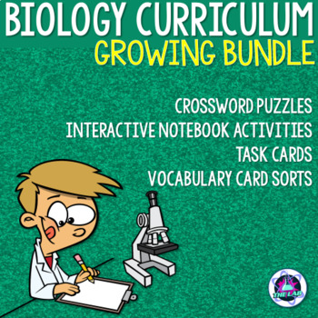 Biology & Life Science Curriculum Bundle