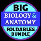 Big Biology Foldables MEGA Bundle for Interactive Notebook