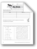 Big Birds (Thinking Skills)