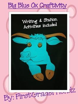Big Blue Ox Craftivity
