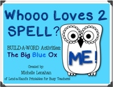 THE BIG BLUE OX Spelling RTI Pack by Ms. Lendahand:)