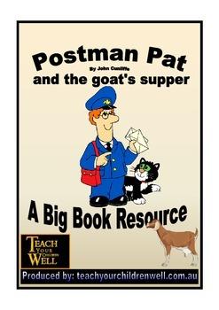 Big Book Activities - Postman Pat - 23 pages