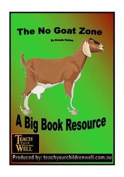 Big Book Activities - The NO Goat Zone - 23 pages