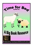 Big Book Activities - Time for Bed - 16 pages