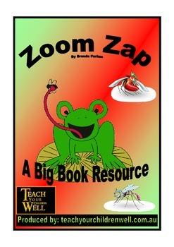 Big Book Activities - Zoom Zap - 13 pages