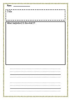 Big Book/ Guided Reading Template