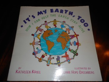 Big Book: It's My Earth Too - Softcover Very Good Plus Condition