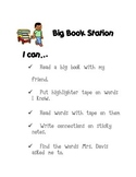 Big Book Station- I can...