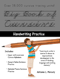 Big Book of Cursive Handwriting Practice (Over 18,000 Curs