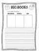 Big Books Worksheet
