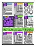 Big Border MEGA Bundle {Creative Clips Digital Clipart}