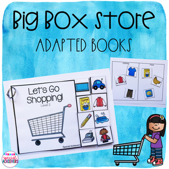 Big Box Store Adapted Books and Activities