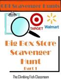 Big Box Store CBI Scavenger Hunt 1