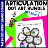 GROWING BUNDLE! Big Box of Dot Art | Speech Therapy | Arti