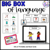 Big Box of Special Ed (Printables and Boom Cards)