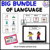 Big Box of Language Bundle for Special Ed: Digital, Binder, Task Boxes