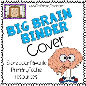 Big Brain Binder Cover