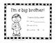 Big Brother / Big Sister Brag Tags