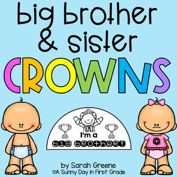 Big Brother/Big Sister Crowns! {freebie}