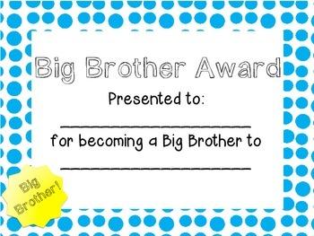 Big Brother/Sister Award