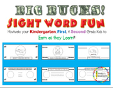 Big Bucks Earn as you Learn Sight Words for  K, 1, 2