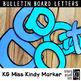 Bulletin Board Letters: KG Miss Kindy Marker