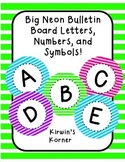 Big Bulletin Board Letters: NEON