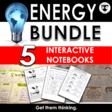 Energy Interactive Notebook Bundle