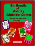 Big Bundle of Holiday Alphabet Games