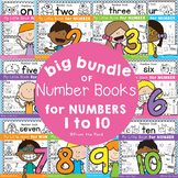Number Sense Activity Books for Numbers 1-10 Bundle