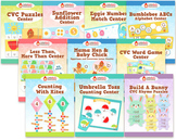 Spring Centers Bundle - Ten Springtime Math and Literacy Centers
