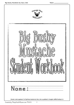 Big Bushy Mustache Student Workbook