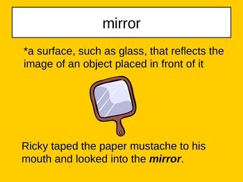 Big Bushy Mustache Vocabulary Houghton Mifflin Series