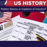 Robber Barons or Captains of Industry - Jigsaw Activity
