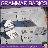 Grammar Interactive Notebook EFL Basics Bundle