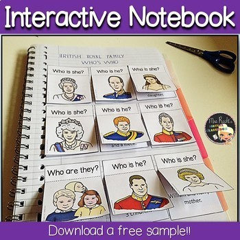 Grammar ESL/EFL Interactive Notebook Basics 1