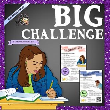 Big Challenge - How to