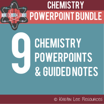 Middle School Chemistry PPT Bundle