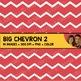 Digital Paper - Big Chevron Backgrounds 2